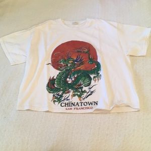 Brandy Melville Chinatown SF Graphic Tee